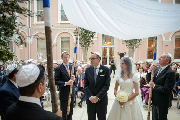 Stunning Jewish Wedding at the Wallace Collection Art Gallery, London, United Kingdom