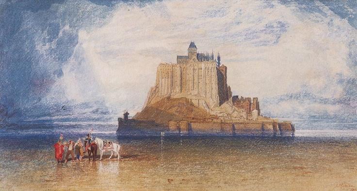 1828  Mont St. Michel