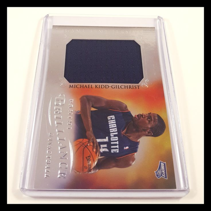 Michael Kidd-Gilchrist Jersey Basketball Card (2012-13 Panini Brilliance)