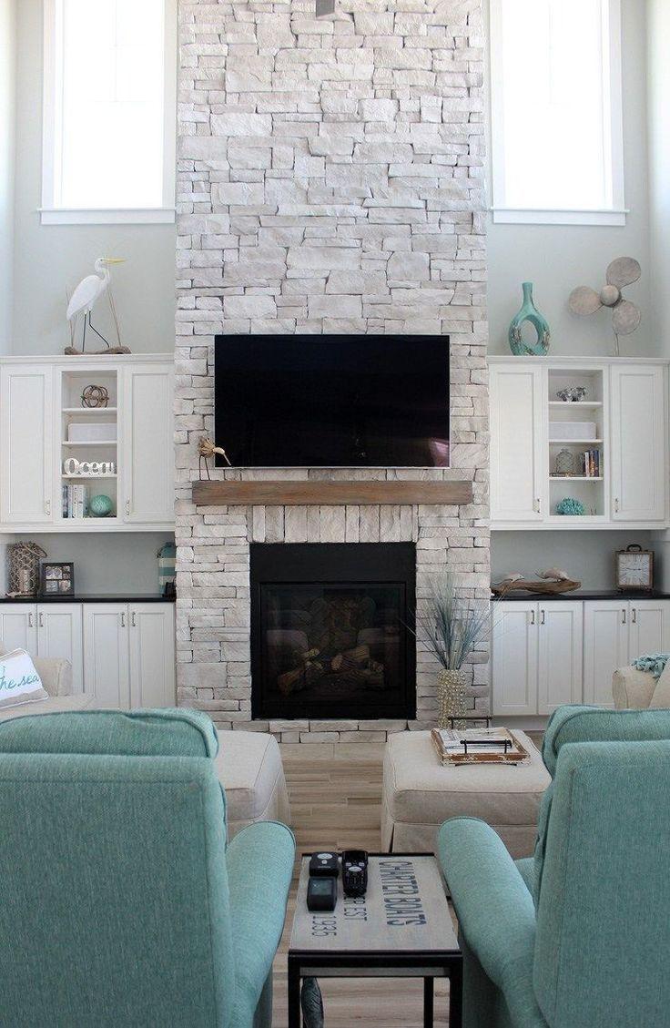 45++ Beach house fireplace ideas info