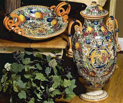 107 Best Images About Italian Pottery Majolica On Pinterest