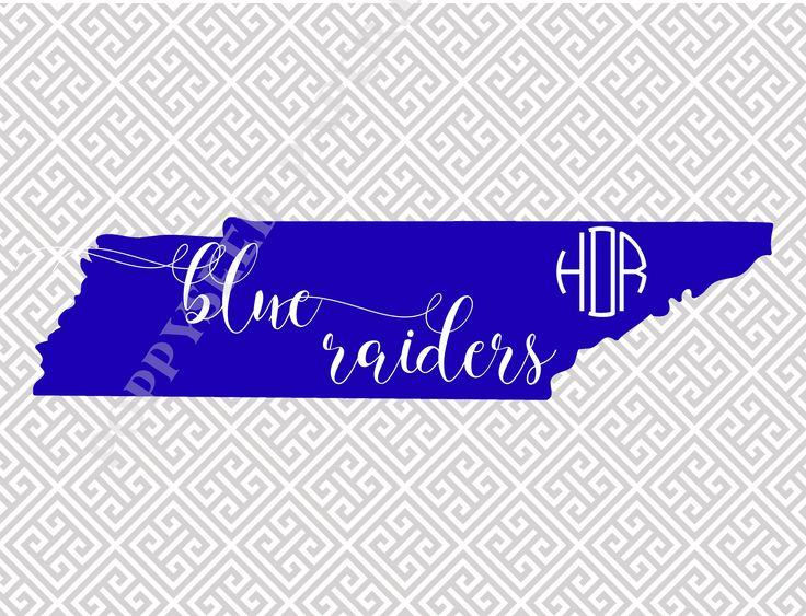 Blue Raiders, MTSU, Middle Tennessee State University, folded notecards