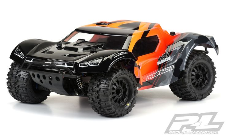 """<p>This is a Monster Fusion Clear Body for SC with  2.8"""" MT Tires. Do you love using huge <a href=""""https://www.prolineracing.com/1-10-mt-tires-all-terrain"""">2.8"""" Tires and Wheels</a> on your <a href=""""https://www.prolineracing.com/traxxas-slash/"""">Slash</a>® or <a href=""""https://www.prolineracing.com/traxxas-slash-4x4/"""">Slash® 4x4</a> but hat..."""