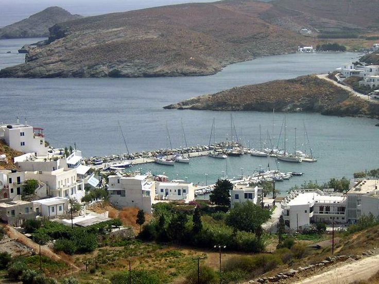 Kythnos island,port Loutra