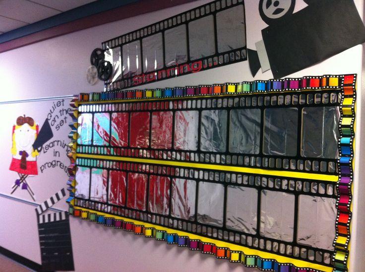 My Hollywood theme bulletin board