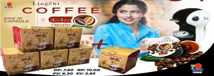 Caffè In Capsule Dxn Lingzhi 3 in 1 EU - Ganoderma Shop