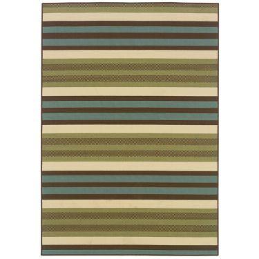 Montego Stripe Indoor/Outdoor Rectangular Rugs - JCPenney