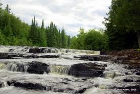 Trowbridge Falls near Thunder Bay, Ontario....also known to very haunted