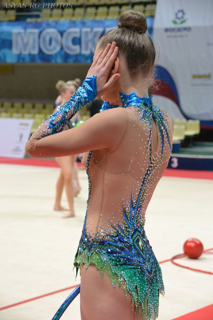 RG leotard close-up