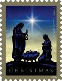 Postal Service previews 2016 Christmas stamps. Illustrator Nancy Stahl worked under the art direction of Greg Breeding of Charlottesville, VA, to create the stamp image.
