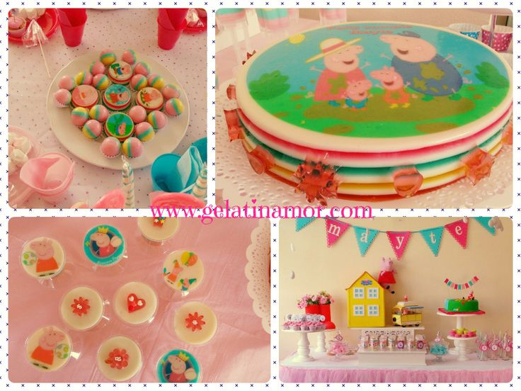 Jelly Cakes Peppa Pig!