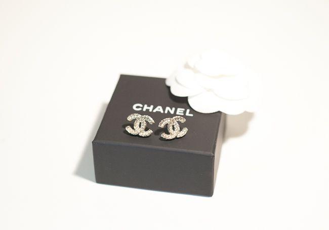 Chanel Ohrringe Stecker Perlen 2015