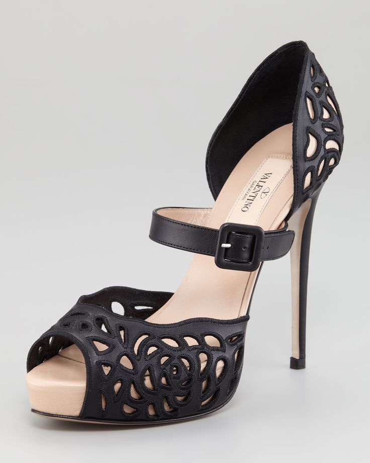Cutout Mary Jane Valentinos#Repin By:Pinterest++ for iPad#