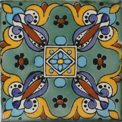 Arteaga 2 Mexican Tile  Handcrafted Ceramic Decorative 2 Talavera Tiles  Item Number:  Available Sizes:  Availability:  10459  Buy 90 & more 4x4s & SAVE 10%. Savings reflected at checkout.  Ships from San Diego, CA within 2 business days.