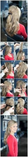 8 Tutorials für eine schöne Frisur - Pin-up - #a #hairstyle # for #pinup # beautiful- # beautiful #hairstyle #pinup