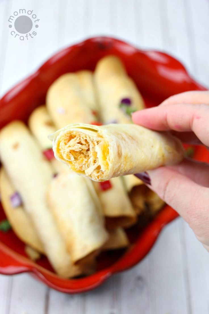 Looking for a homemade taquito recipe? Look no further with these delicious slow cooker cream cheese chicken taquitos, made perfectly during the day so you