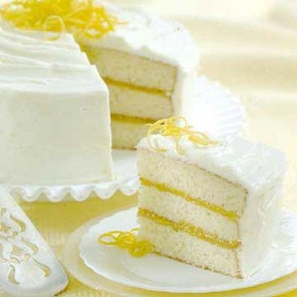 Triple Lemon Layer Cake Recipes Dishmaps