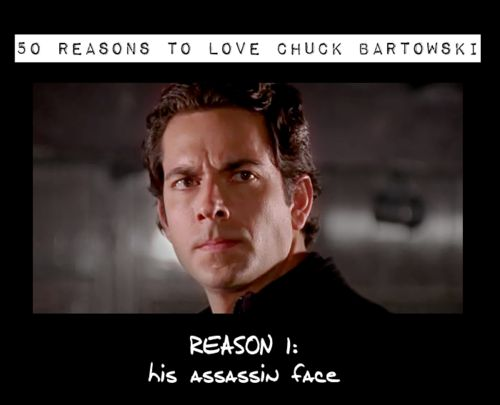 Moments of discovery, 50 Reasons to Love Chuck Bartowski!