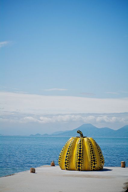 Day 12: The trip from Matsue to Naoshima can be made in about 4 hours, or with a stop in Okayama (famous for Korakuen garden). Enjoy your first evening on Naoshima Island, home to world-class art including Yayoi Kusama's iconic pumpkin. www.boutiquejapan.com