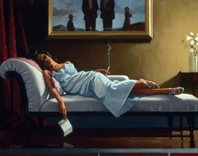 The Letter Artist: Jack Vettriano