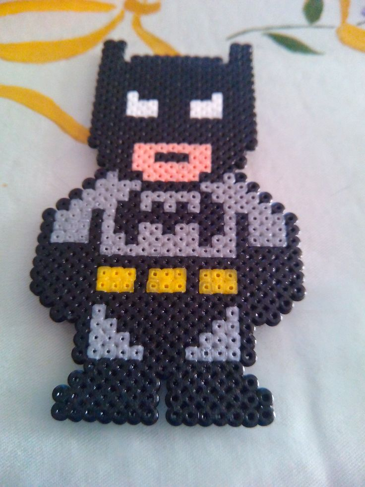 Batman. Hama Beads Mini.