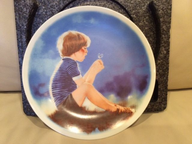 #ErikandDandelion by Donald #Zolan Children Pemberton Oakes Viletta China #Plate