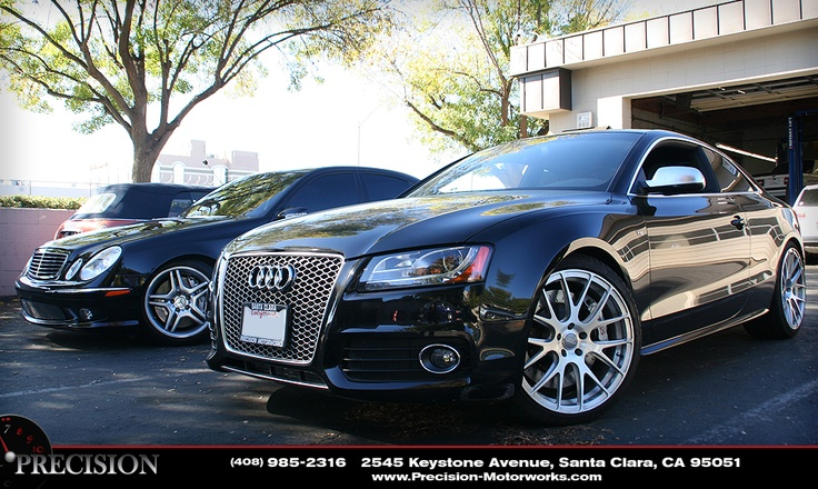 #PrecisionMotorworks - APR Supercharged Audi S5 and E55-Mercedes AMG
