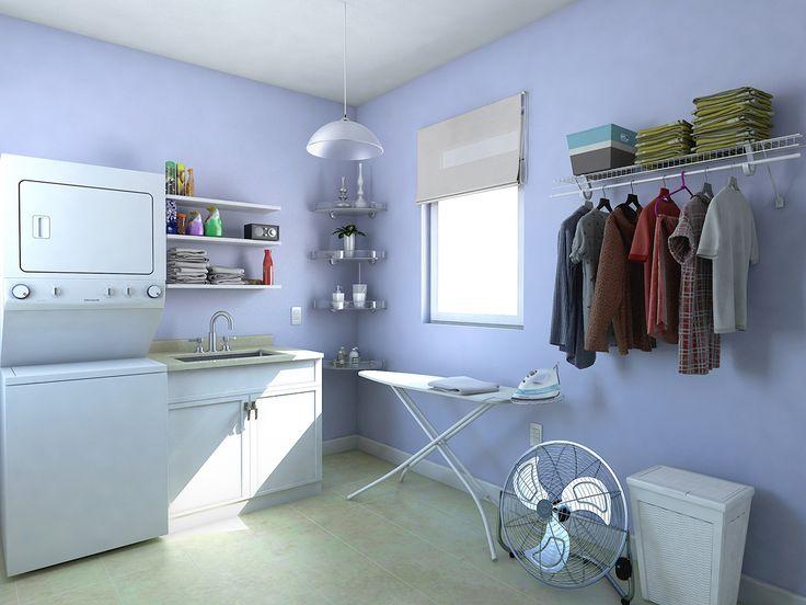 Un centro de lavado te ahorrará espacio, para organizarte mejor.