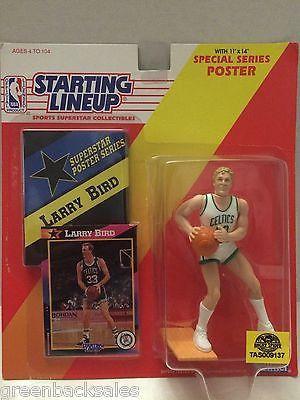 (TAS009137) - Starting Lineup - Larry Bird #33 Boston Celtics