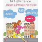 A2 Lower Intermediate English Lesson - Present Continuous For Future