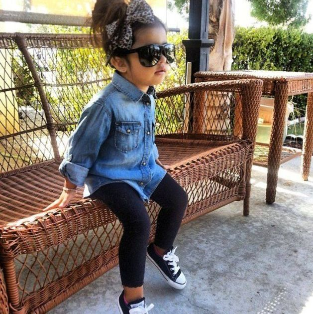 I want this outfit for me. I hate when people dress their kids up like little adults.....