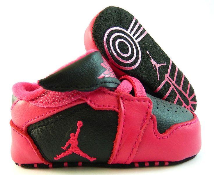 Nike baby girls air jordan 1st crib t pack shoes cb