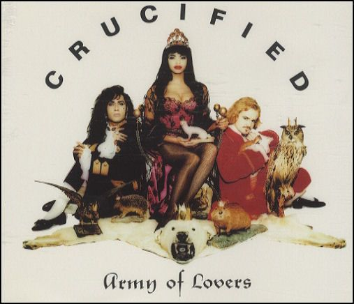 """For Sale - Army Of Lovers Crucified - Original issue UK  CD single (CD5 / 5"""") - See this and 250,000 other rare & vintage vinyl records, singles, LPs & CDs at http://eil.com"""