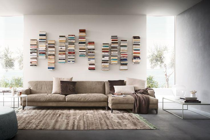 PRESS | Libreria in Metallo Verniciato #living #alfdafre #bookshelf
