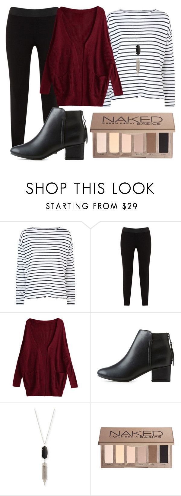 """game day 2"" by matchatea on Polyvore featuring rag & bone, JunaRose, City Classified, Kendra Scott and Urban Decay"
