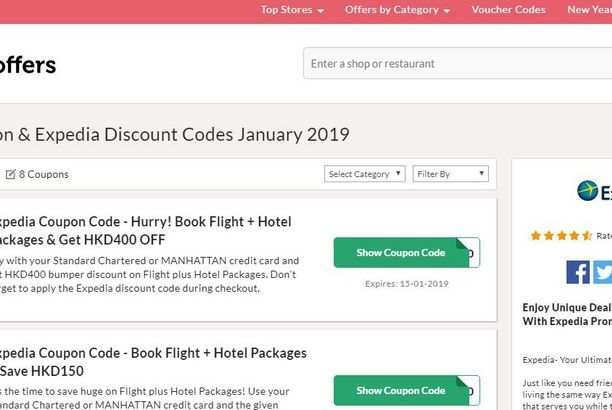 Expedia Promo Code Hong Kong 400 Off January 2019 Collectoffers Posts By Darren Rowse Coding Promo Codes Expedia
