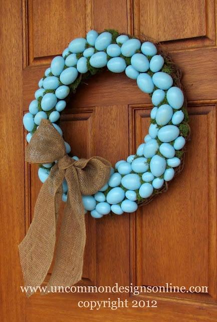 Robin's Egg Blue Easter Wreath: Decor Ideas, Decorating Ideas, Robin Egg Blue, Easter Decor, Easter Wreaths, Spring Wreaths, Robins Eggs Blue, Eggs Wreaths, Blue Easter