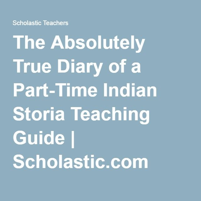 the true diary of a part time indian pdf