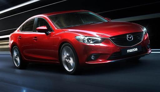 Luxurious sedan of Mazda 6