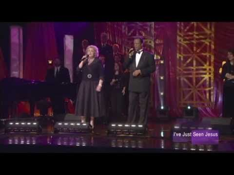 "▶ Larnelle Harris and Sandi Patty ""I've Just Seen Jesus"" - YouTube"