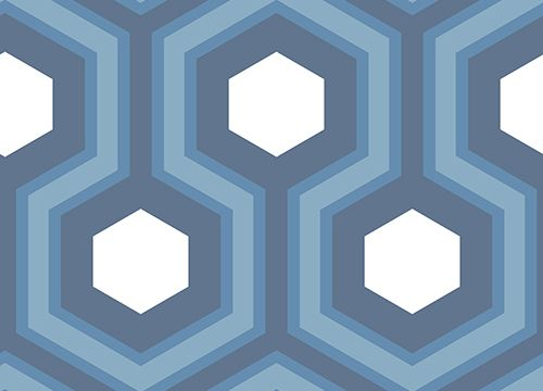 Cole & Son Contemporary Restyled Wallpaper Collection Hicks Grand in Blue wallpaperdirect