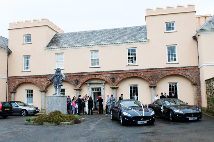 Cornwall wedding venue Pentillie Castle