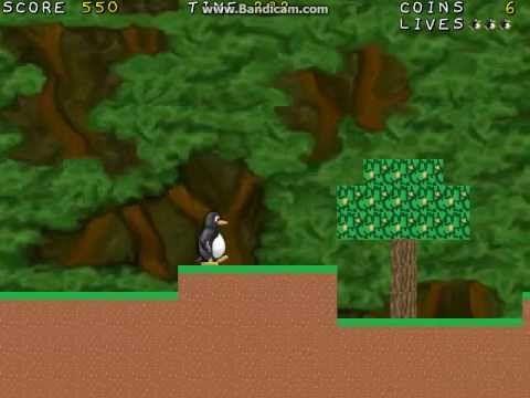Supertux 0.1.3 Forest World (3/6) - YouTube