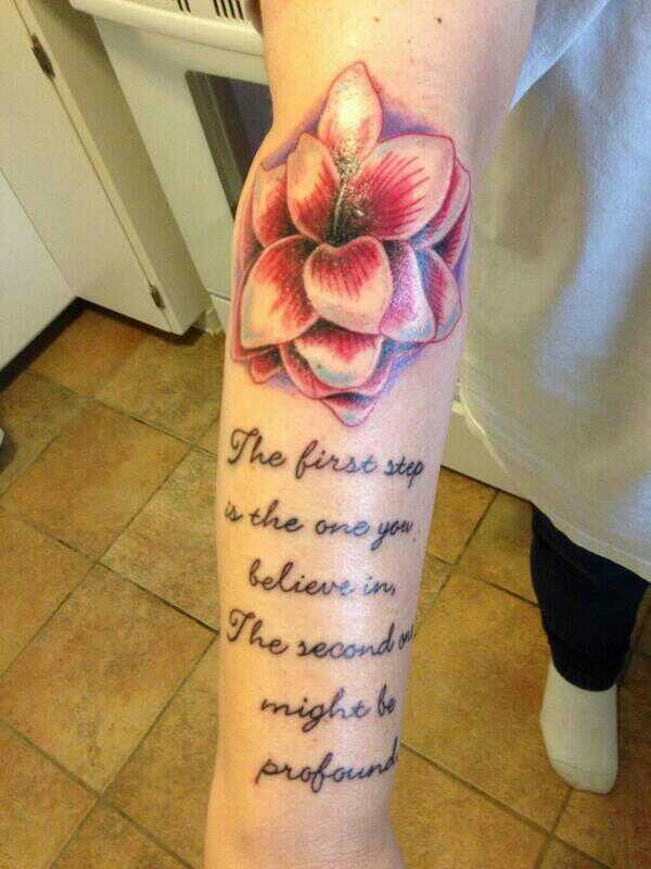 Amaryllis   Tattoos Shinedown   Pinterest