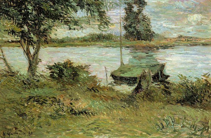 Paul Gauguin, Banks of the Oise, 1881