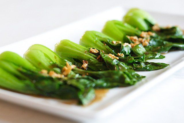 Restaurant-style Chinese Greens with Oyster Sauce Recipe - Easy Recipes at RasaMalaysia.com