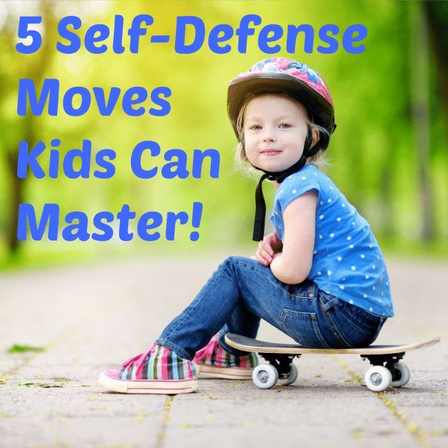 Self defense techniques for kids