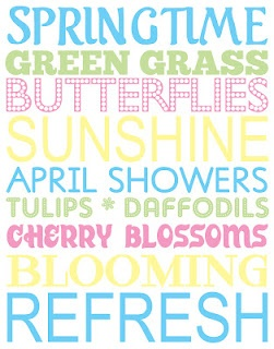 Spring Subway ArtDiy Ideas, Crafts Ideas, Subway Art, April Subway, April Shower, Spring Subway, Holiday Decor, Springtime Fun, Easter Ideas