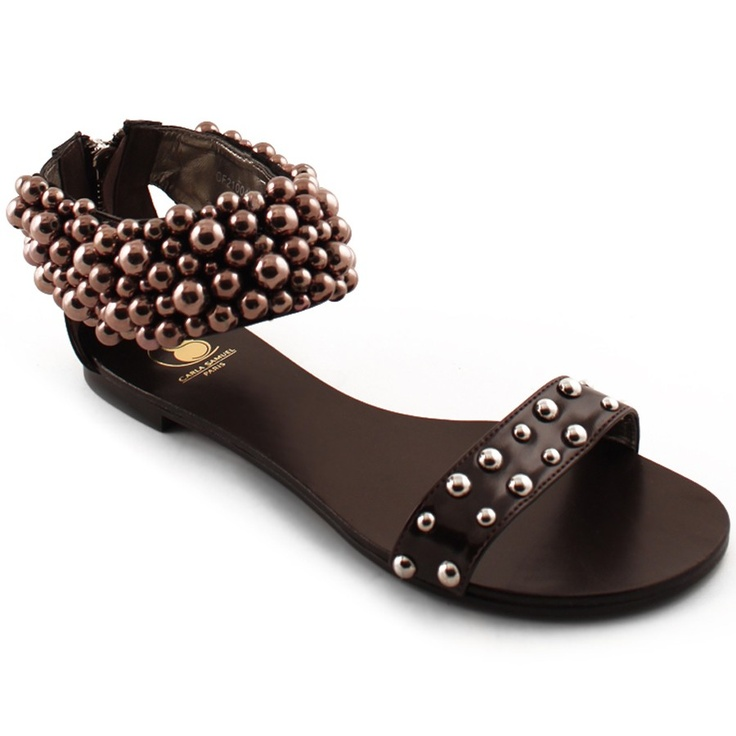 Fashion Days - Sandale - Carla Samuel, Sandale maro cafea Lorette