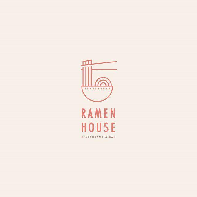 065 - Ramen House  #dailylogoseries